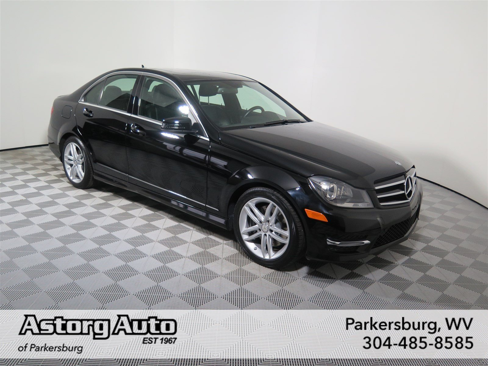 certified pre owned 2014 mercedes benz c class c 300 sport sedan in parkersburg um1543 astorg. Black Bedroom Furniture Sets. Home Design Ideas